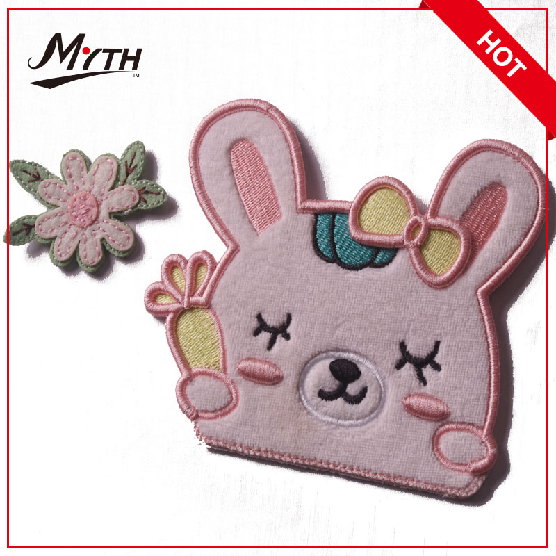 fabulous embroidered patch with adhesive back