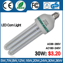 Well Quality Lowest cost LED energy saving lamp 30W LED corn light Wide Voltage AC85V-265V
