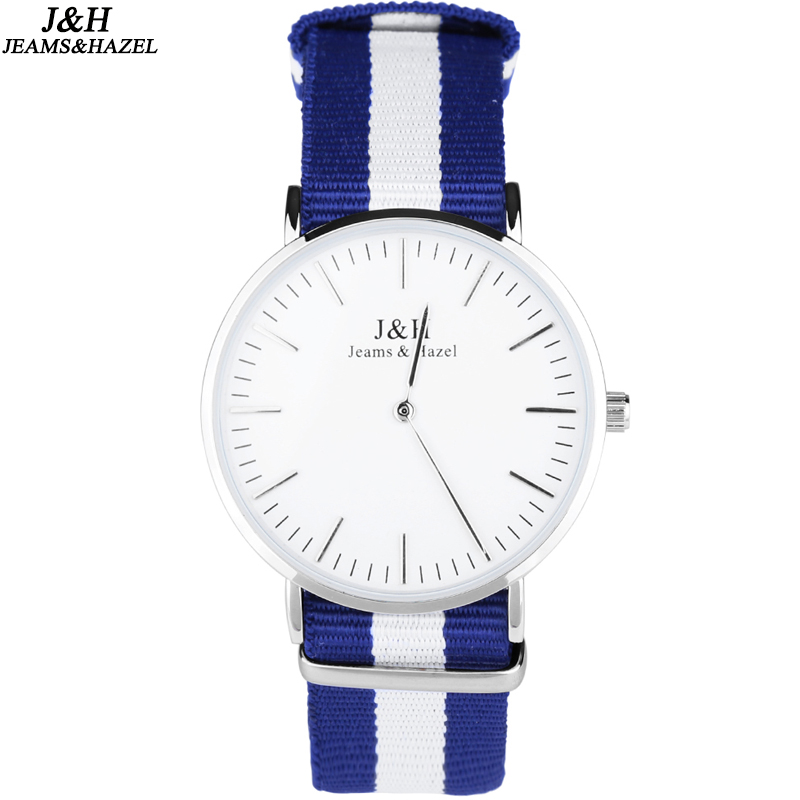 Vogue Stylish Nylon Strap Watch, Quartz Wrist Watch for Women and <strong>Men</strong>