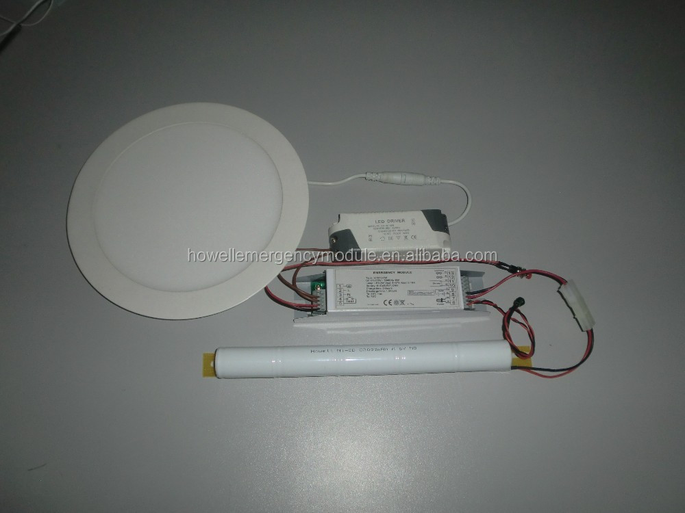 100% light output emergency battery pack for Led lighting as emergency use