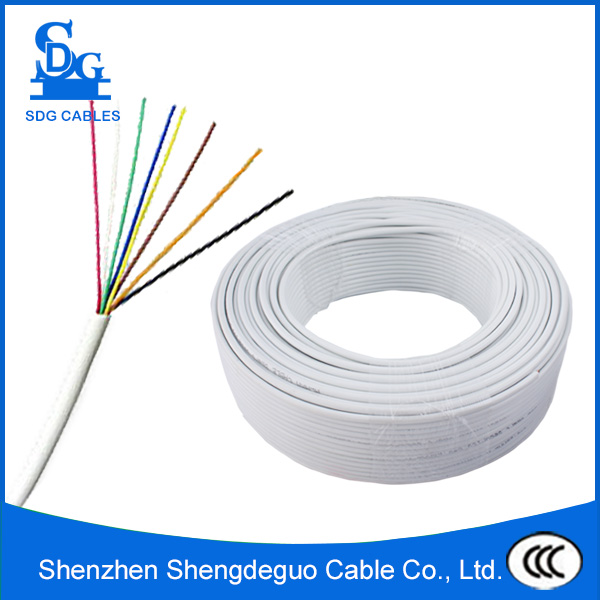 factory price pvc jacket indoor multi pair 4 wire telephone cable