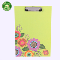Promotional top quality decorative restaurant bill file folder