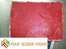 Wholesale BQF Frozen Fruits Strawberry Puree 2015