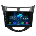 Full touch 10.1'' Android 7.1.2 px5-2 8 core capacitive hd screen car dvd player for Verna 2011-2012