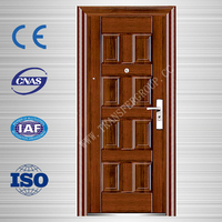popular doors prices in south india safety steel doors front door designs CF-S27