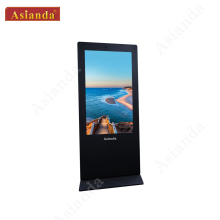 55'' floor standing kiosks outdoor Direct Sunlight Readable LCD display totem