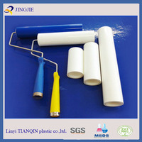 12 Inch Blue Color PE Sticky Roller For Cleanroom