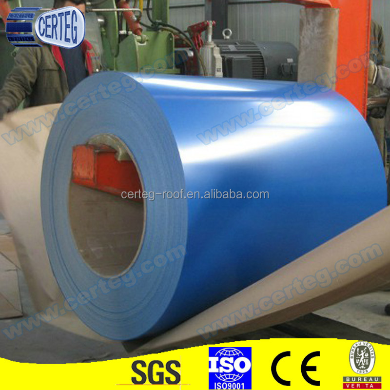 PPGL Color Coated Galvanized Steel Sheet, Prime Prepainted Galvanized Steel Coils