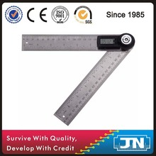 Digital electronic angle finder ruler stainless steel ruler