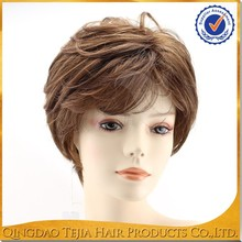 Top quality thin skin 0.2 hard full lace wigs virgin Brazilian human hair