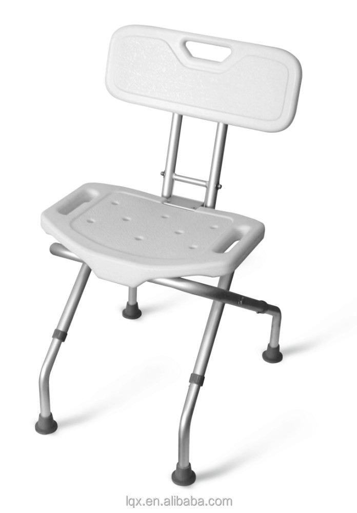 shower chair with folding backrest buy folding backrest bath stool