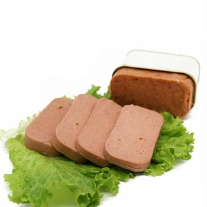 Canned beef luncheon meat halal certificate ready to eat hot selling high quality delicious