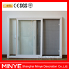Manufacture of double glass wooden color Plastic frame glass window
