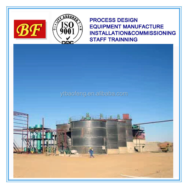 Mineral Ore Pulp Agitation Tank For Ore Dressing Plant