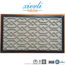Fancy PP mat, rubber door mat, anti-slip carpets rug mat
