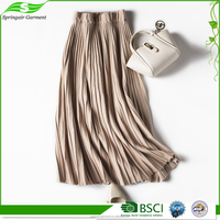 Safety Long Maxi Womens Cotton Skirt