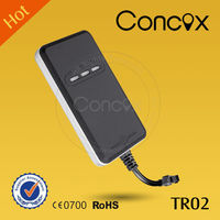 Concox gps car tracker with sms remote engine stop TR02 with real-time tracking simple tracker