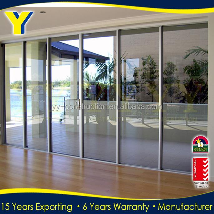 Australian standards double glazing exterior commercial glass door ...