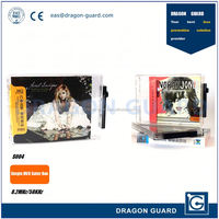 EAS security dvd safer box & EAS dvd anti-theft safer & Magnetic 58khz dvd safers cases