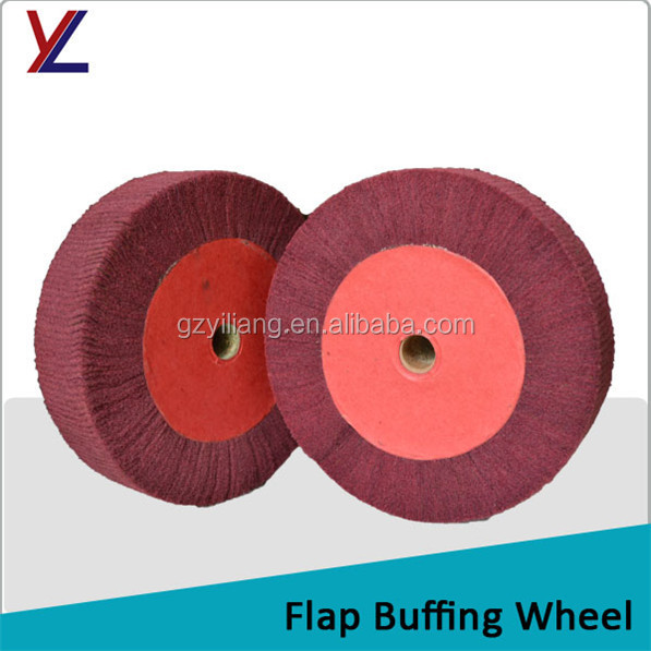 60 grit flap polishing wheel for copper pan buffing