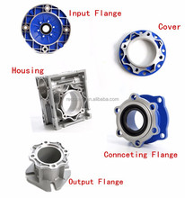 Good Quality NMRV spare part Aluminium alloy gearbox housing, flange, side cover/worm shaft/worm wheel/output shaft/TORQUE ARM