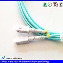 ST-LC Armored Duplex 1meter PC UPC APC LSZH OM1,OM2,OM3 Fiber optical patch cord,pigtail,jumper,cable