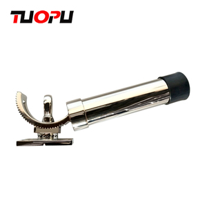 Removable stainless steel fishing rod holder / fishing tackle rod single holder