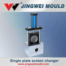 professional plastic extrusion hydraulic double pillar/column screen changer