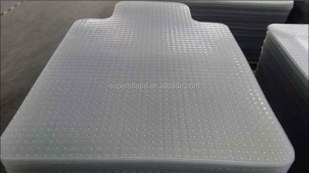 PVC floor mat for office chair