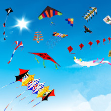 Promotional gifts flying diamond kite /Wholesale rainbow 3D stunt kite/Delta kite factory
