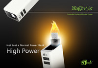 2013 Brand New High Capacity 5200mAh Dual USB External Battery Charger Portable Power Bank for iPhone/iPad/Samsung Galaxy Tab/LG