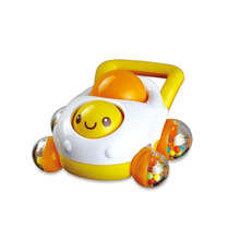 Rattles Develop Baby Intelligence Grasping Gums Plastic Hand Bell Rattle Funny Educational Toys