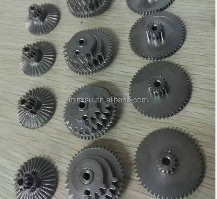 Factory customized powder metallurgy double sintered <strong>gear</strong> for electric tools