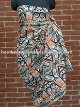 100% Cotton Printed Beach Sarong for Promotion & Retail Sale