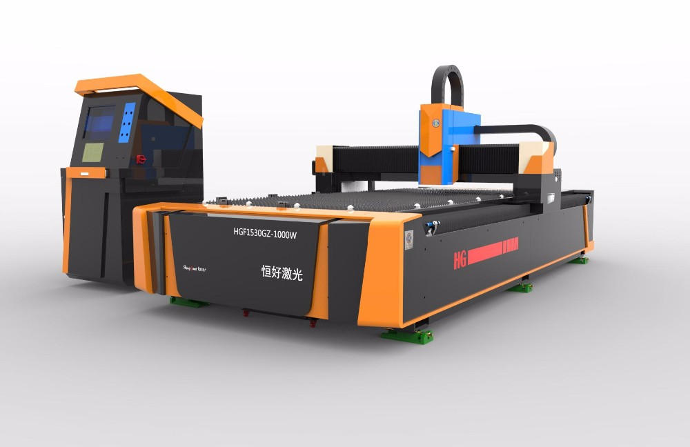 500w fiber laser stainless sheet cutting machine BCL1309FX for resell
