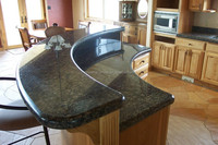 Beautiful prefab granite Bar Tops