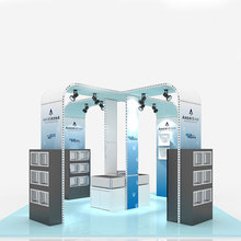 Made in China cosmetic trade show booth display With Professional Technical Support
