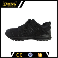 black steel midsole safety shoes men sporty shoes anti-impact safety shoes