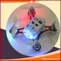 New product 2.4G 4CH 6 axis gyro mini rc quadcopter helicopter with light