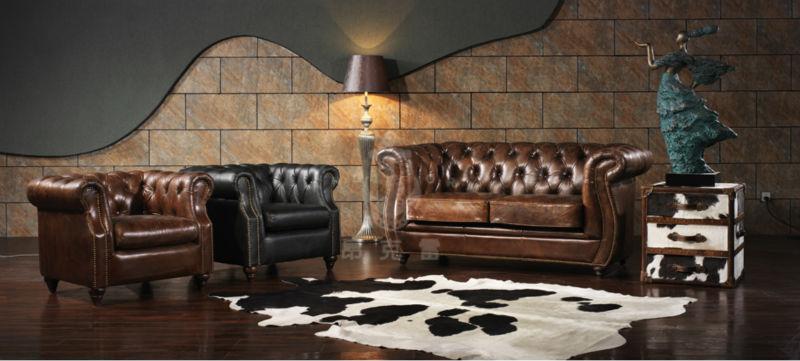 wohnzimmer chesterfield:Wohnzimmer billige chesterfield-sofa a127-Wohnzimmer Sofa-Produkt ID