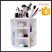 online three colors 360-degree rotating organizer makeup cosmetic plastic storage box