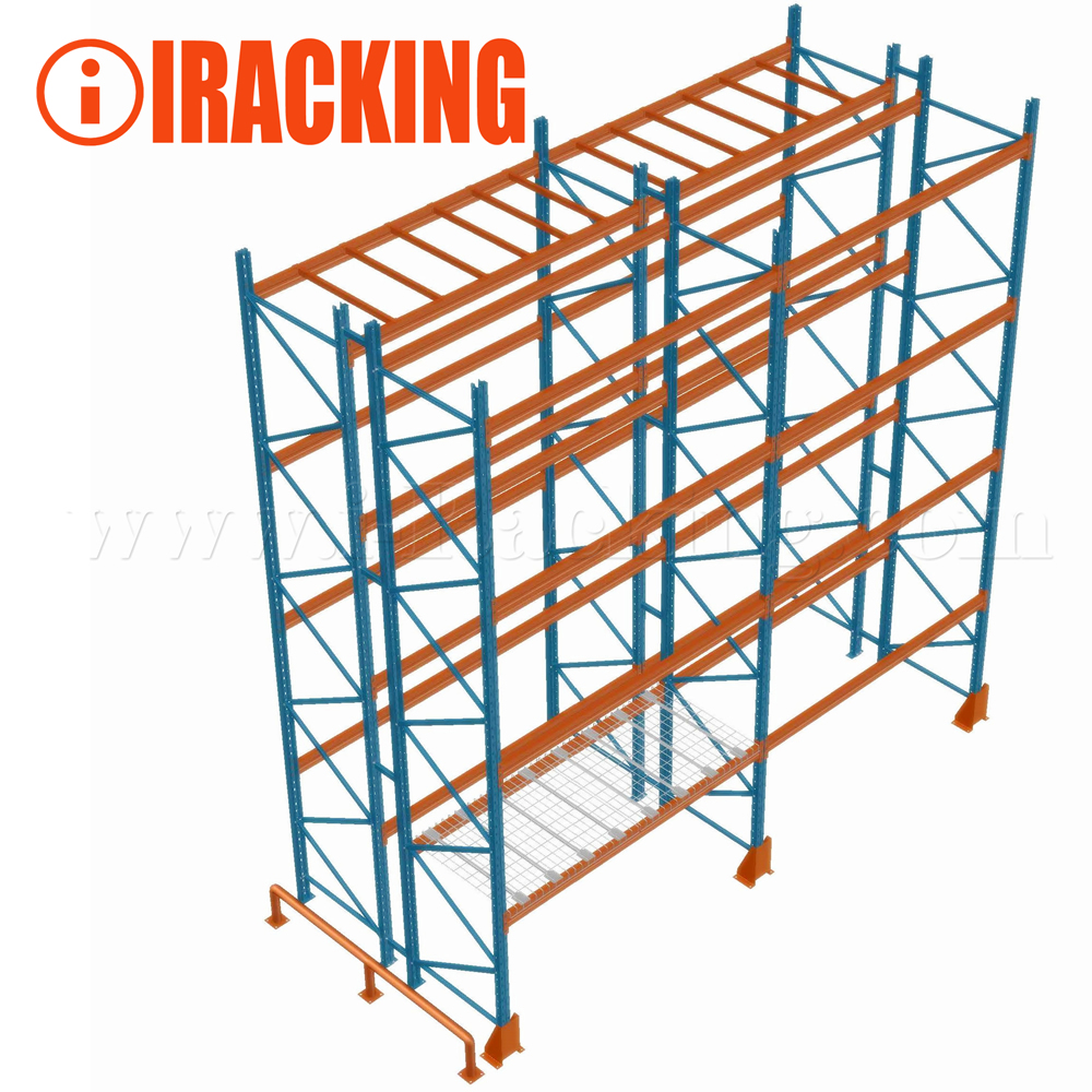 Heavy Duty Pallet Racking System For