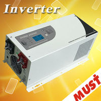 lcd display pure sine wave 5kw power inverter