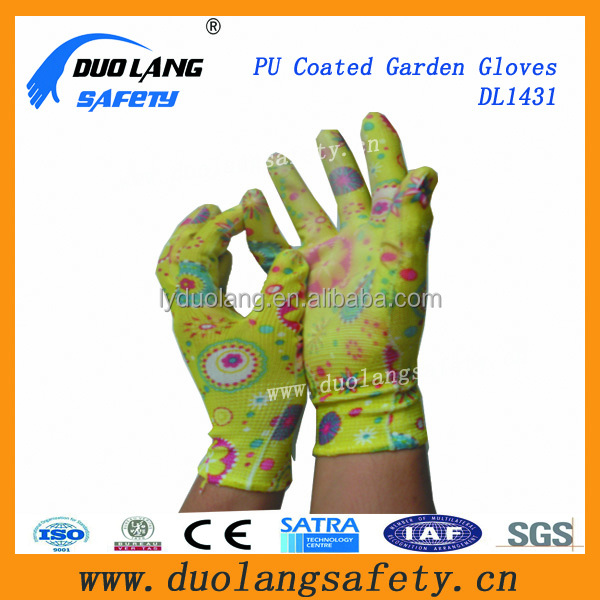 portable flexible pu gloves mittens protective latex gloves