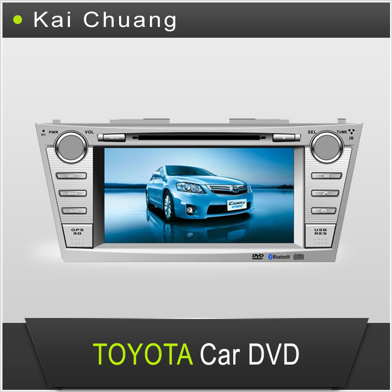 8inch Touch Screen Dashboard TOYOTA CAMRY 2007-2011 Car DVD GPS Player with Bluetooth Radio USB AUX-In SWC