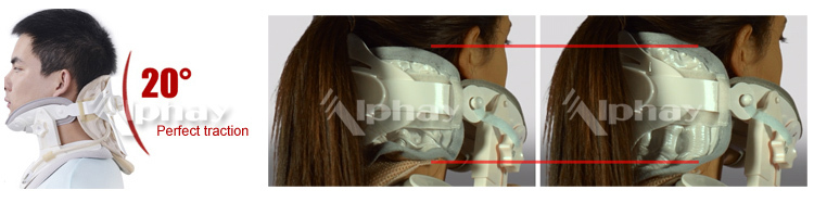 FDA CE air traction neck support collars, neck support