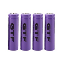 High capacitance 4 pcs/set 14500 battery 3.7V 2300mAh rechargeable liion battery for Led flashlight batery litio battery Brand