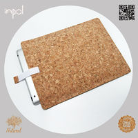 2013 custom made cork leather for apple new ipad covers cases china manufacturer