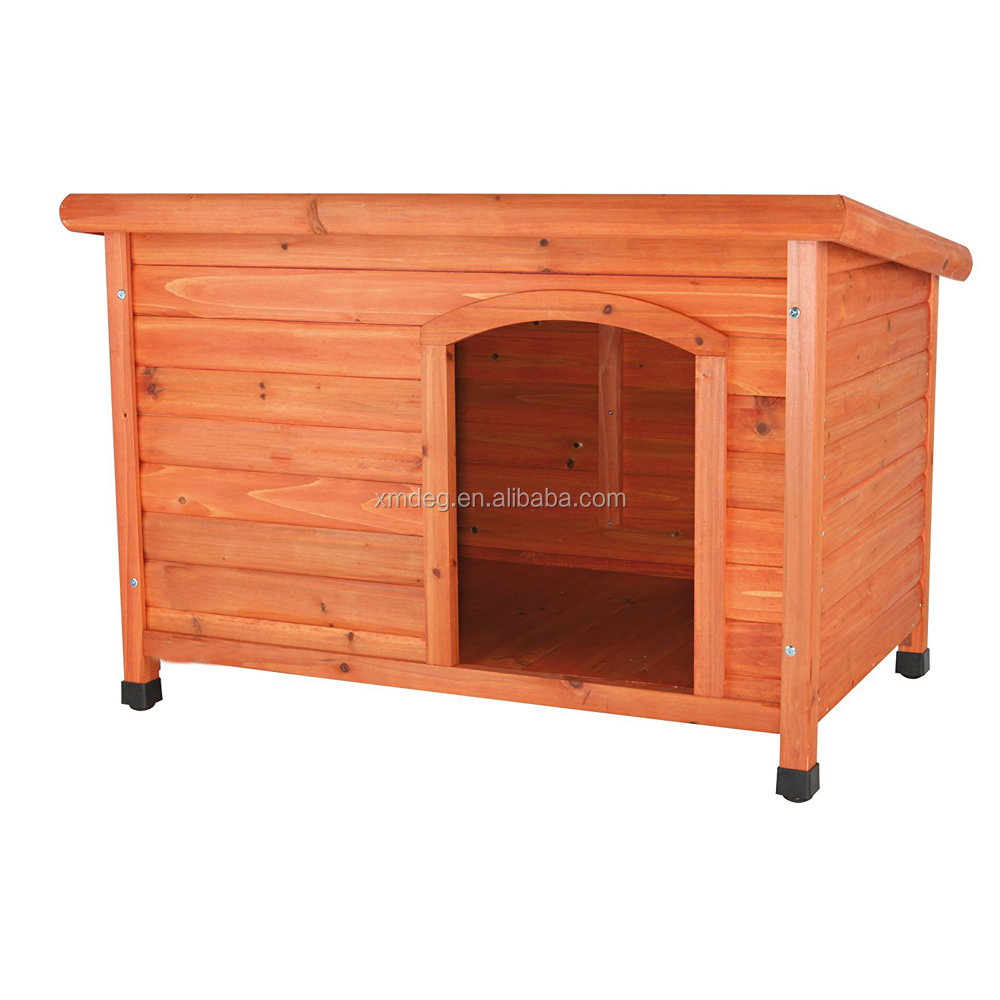 Wooden Cabin Dog House Pet Shelter Wooden Dog Club House