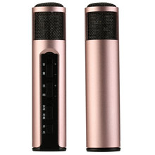 2017 No.1 Usb Condenser Including Noise Reduction Chip Bluetooth Karaoke Microphone